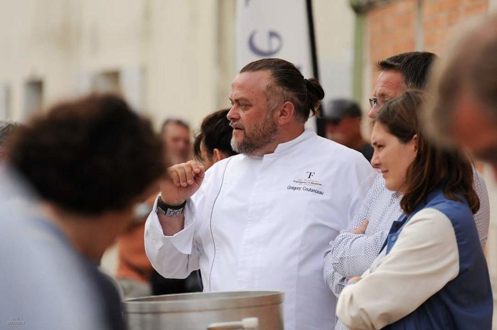 Omelette géante - Marans - Grégory Coutanceau