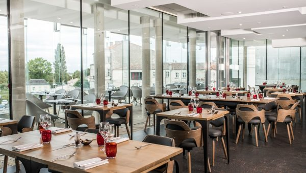 Salle restaurant rochefort - Vivres - Grégory Coutanceau